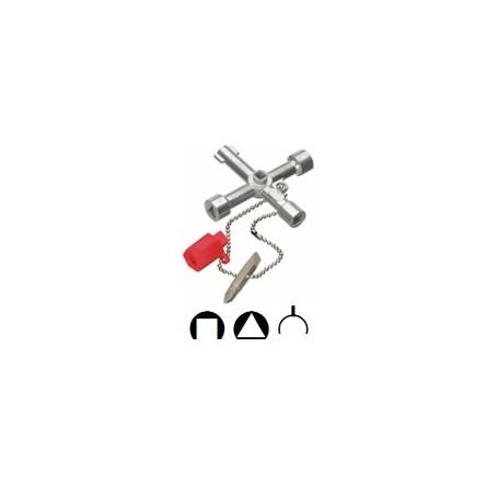 Cheie universala pentru dulapuri si panouri de comanda