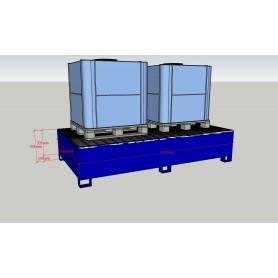 Cuva de retentie din otel pentru container tip cisterna IBC/KTC